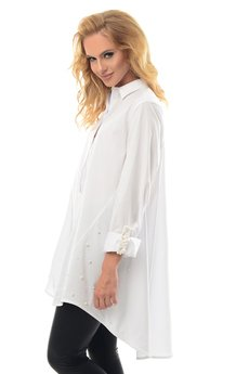 Alekssandra - Koszula LONA - biała