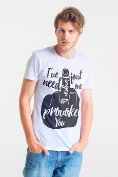 GAU great as You - PROVOKE - t-shirt męski biały