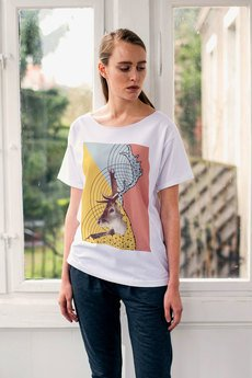 GAU great as You - DEER METRIC t-shirt oversize