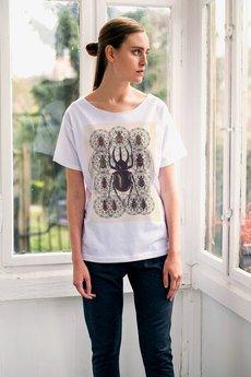 GAU great as You - HEXAGON BEETLE t-shirt oversize