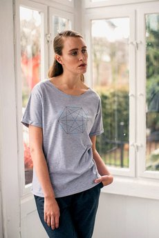 GAU great as You - DOUBLE HEXAGON t-shirt oversize