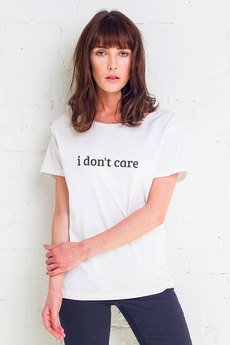 GAU great as You - DON'T CARE t-shirt oversize