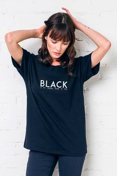 GAU great as You - BLACK IS ALL COLORS t-shirt oversize