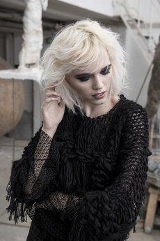 Weronika Lipka - Kardigan Black Swan