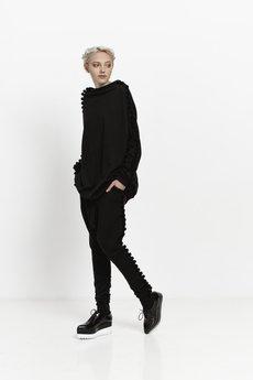 Girl Little Boy - Spodnie dresowe w pomponiki