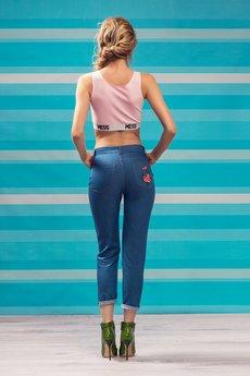Project MESS - Jeansy haftowane