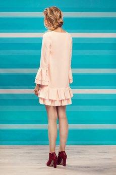 Project MESS - Sukienka Jasny róż  Bella