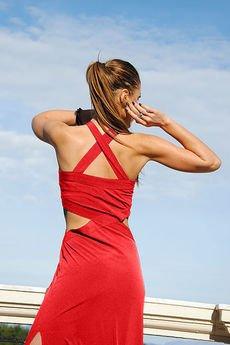 WOW - Długa sukienka Lady in Red
