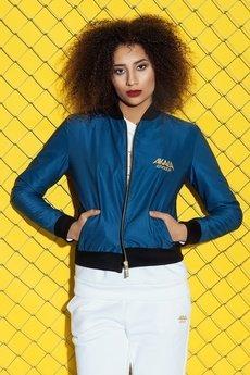 AKALA wear - Bomber Giacca Blue