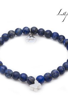 Lapide - Lapis Lazuli z motylem