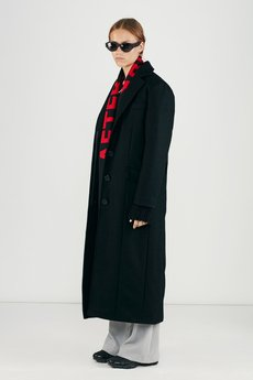 MISBHV - HEADS COAT IN BLACK WMNS