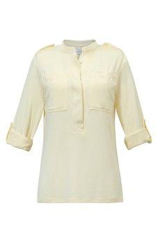 RISK made in warsaw - koszula JOLKA pretty yellow