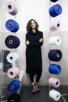 RISK made in warsaw - sukienka PROSTA HISTORIA black