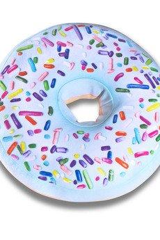Poduszkownia - Poduszka Donut pączek duży z posypką miętowy XXL