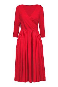 RISK made in warsaw - dress MASZ WIADOMOŚĆ RED