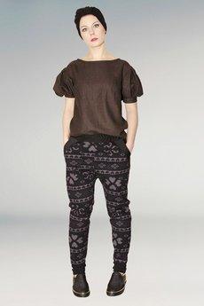 Non Tess - elegancka bluzka z bufiastymi rękawami