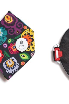 Maska antysmogowa z węglem aktywnym FOLK + 1 filtr - 60157