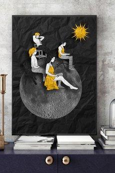 Parallel World - Energia... - art print 30x40 cm.