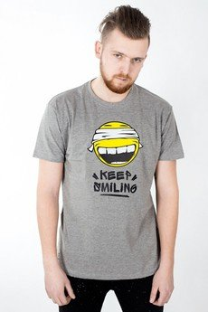 "UNICUT - Koszulka ""Keep Smilling"""