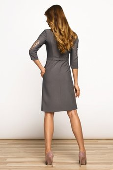COMO - Sukienka Patrizia Angel Steel Grey