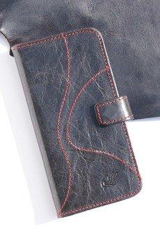 Berlose - Pokrowiec skórzany Berlose na telefon Samsung s6
