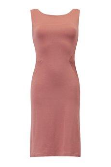RISK made in warsaw - sukienka SLIM FAST LIGHT retro róż