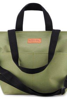 Militu - Duża torba Miss Szoperka 2 - green khaki