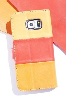 Berlose - Pokrowiec skórzany Berlose na telefon Sony Xperia E5