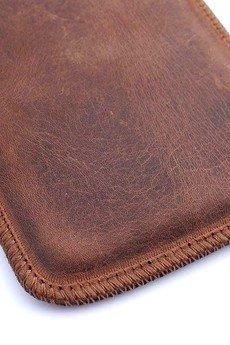 Berlose - Pokrowiec skórzany wsuwka Alan na telefon LG K10