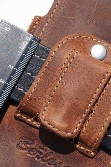 Berlose - Pokrowiec skórzany Togo na Sony Xperia E5