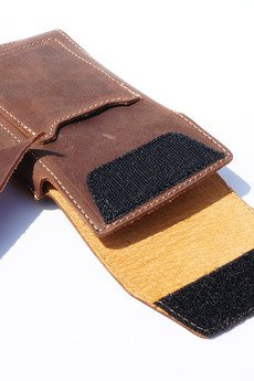 Berlose - Pokrowiec skórzany Togo na Sony Xperia XA