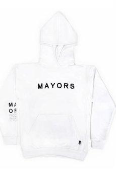 MAJORS - MAYORS HOODIE WHITE