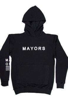 MAJORS - MAYORS HOODIE BLACK