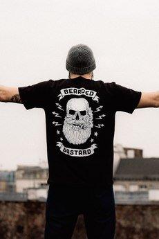 The Urban Beard - T-shirt Bearded Bastard