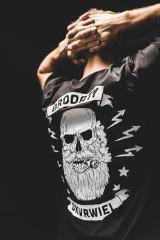 The Urban Beard - T-shirt brodaty skvrwiel