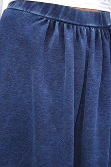 Bien Fashion - Długa spódnica granatowa basic