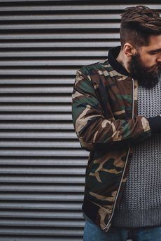 The Urban Beard - Flyer Jacket Camo