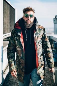 The Urban Beard - Parka Moro