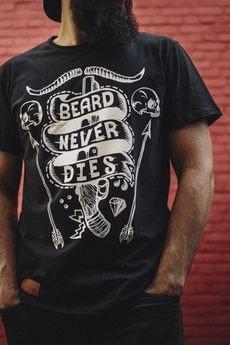 The Urban Beard - T-shirt Beard Never Dies