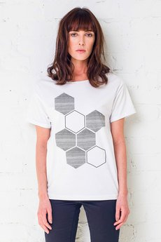GAU great as You - HONEYCOMB Oversize t-shirt