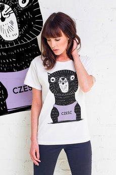 GAU great as You - CZEŚĆ KOCIE t-shirt oversize
