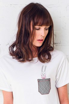 GAU great as You - BUNNY IN POCKET t-shirt oversize