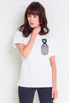 GAU great as You - CAT IN POCKET t-shirt oversize