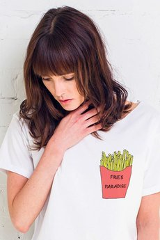 GAU great as You - FRIES IN POCKET t-shirt oversize