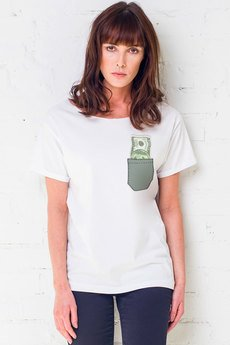 GAU great as You - DOLLAR IN POCKET t-shirt oversize