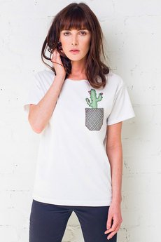 GAU great as You - CACTUS IN POCKET t-shirt oversize