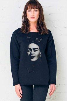 GAU great as You - FRIDA PORTRAIT - bluza damska oversize czarna