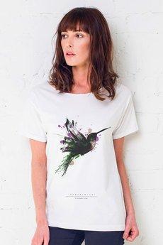 GAU great as You - HUMINGBIRD PAINTED Oversize t-shirt