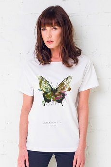 GAU great as You - BUTTERFLY PAINTED Oversize t-shirt