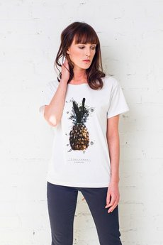 GAU great as You - PINEAPPLE PAINTED Oversize t-shirt